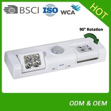 High Quality Indoor LED Cabinet Motion Sensor Night Light with Magnet