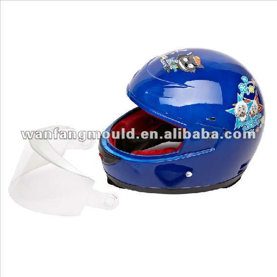 motorcycle helmet/Experienced plastic mould factory plastic Motorcycle Helmet Mold with visor