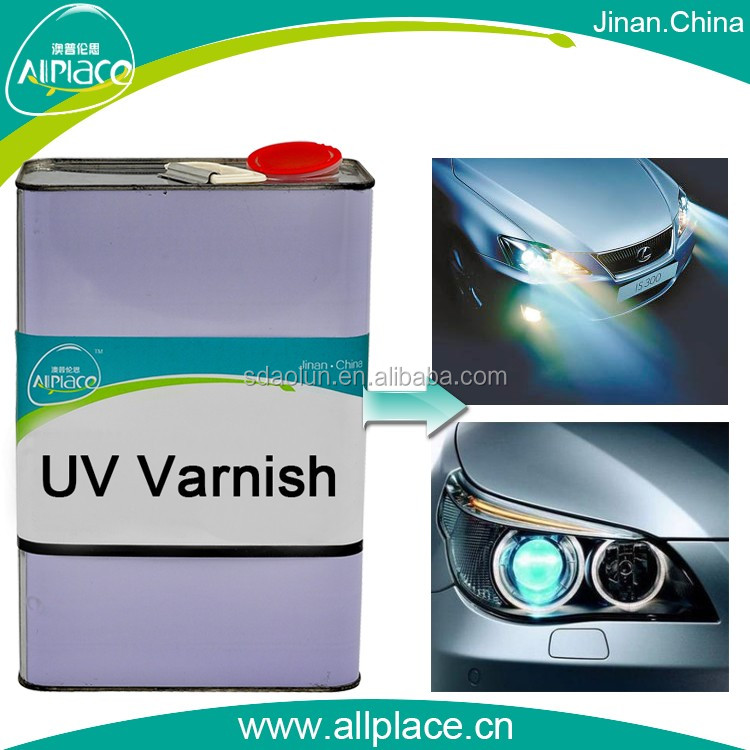 UV overprint varnish for headlights / uv coating for ceramic tile / uv coating for car