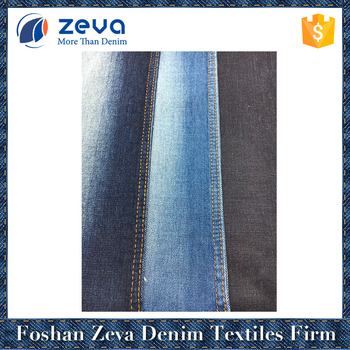 2017 China supplier TR blue cheap denim fabric stock lot to pakistan