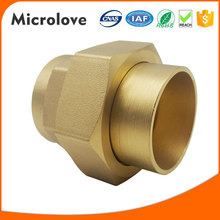 Split air conditioner parts brass pipe fitting joint