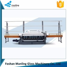 CE straight line beveling glass edge polishing machine