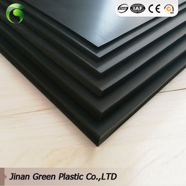 Eco-friendly 1220x2440 6mm Black PVC Lamination Sheet