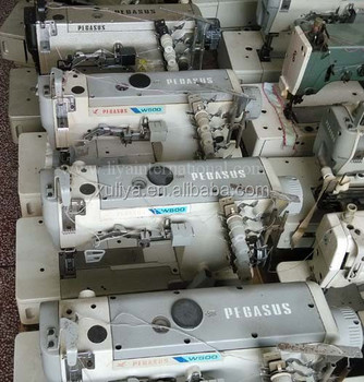 reconditioned Japan Used Second Hand Interlock Pegasus Sewing Machine W500