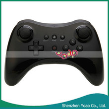 2015 Sell Well Black Wireless Controller for Wii U Pro Controller