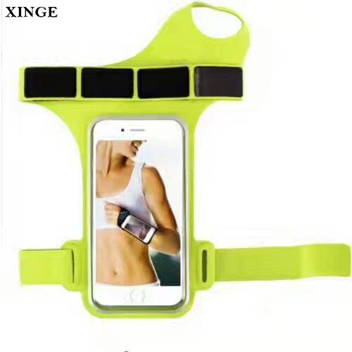 XINGE Custom Fashion Reflective Waterproof Fitness Sports Swimming/Running Pvc Mobile Phone Armband Arm Bag Case