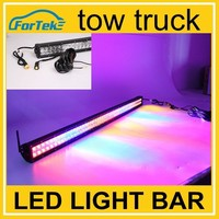 Full color tow truck led light bar 288w 50'' off road remote control
