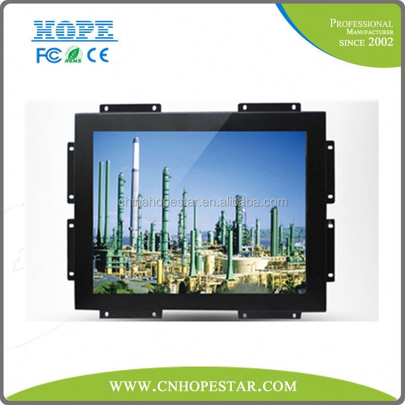 USB/ RS232 Optional 7 Inch 10.1 Inch 12 Inch 15 Inch 17 Inch Resistive LCD Touch Screen Monitor