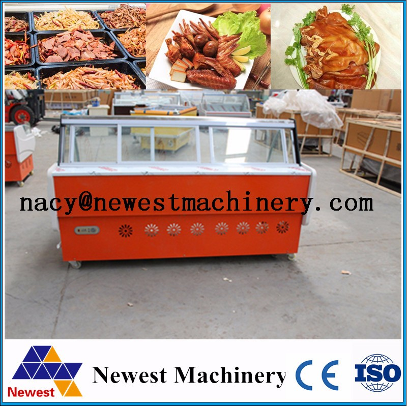 Meat deli food display shelf,bread display cabinet,hot food display cabinet
