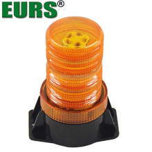 Explosion flash spot car led yellow and blue 10-110V car warning light round ceiling forklift lightings