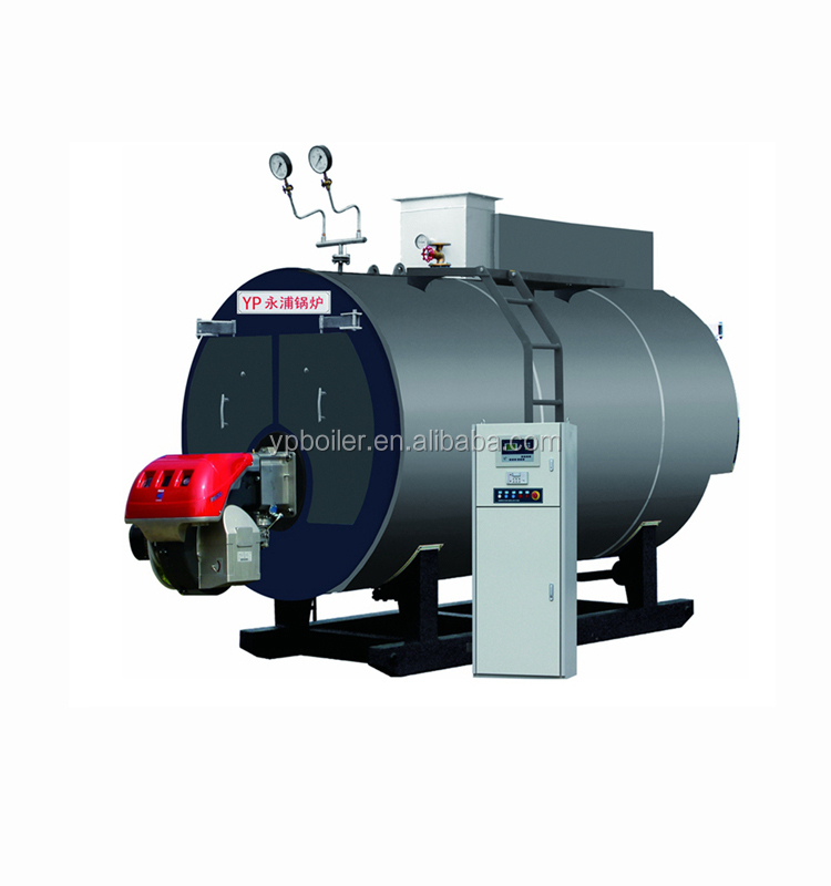 Gas oil fired hot water boiler for coconut oil chinese supplier