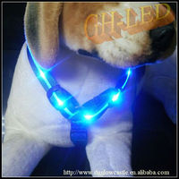 fluorescent chain dog harness pattern
