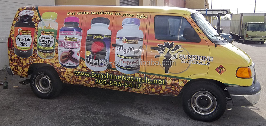Custom Printed Vehicle Wrap Stickers