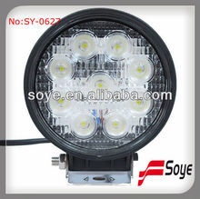 27w High Power spot(pencil ) or flood led working light