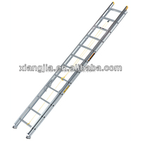 2014 adjustable aluminum folding ladder small step stools ladders,Hight quality Telescopic Aluminium Ladder