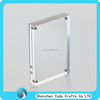 "Transparent Acrylic Block Picture Frame 5"" x 7"""