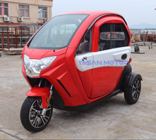 long range enclosed scooter electric three wheel scooter 500w motor electric tricycle