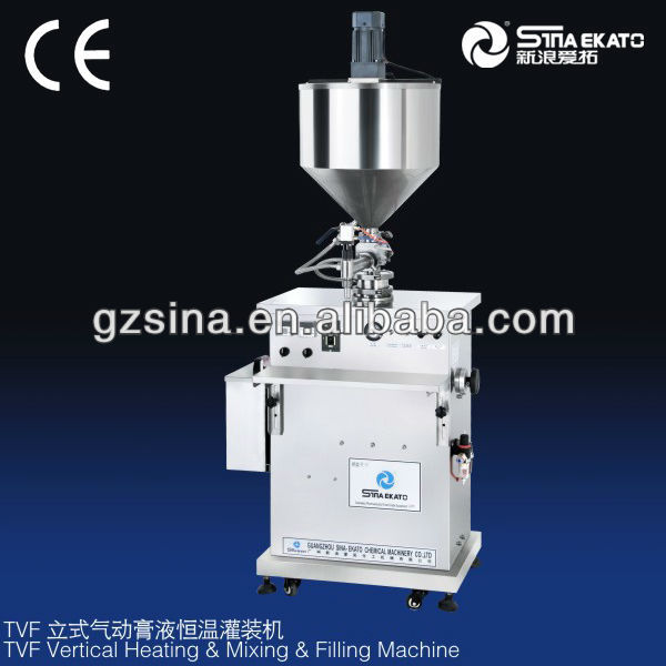 sinaekato high quality constant temperature filler, gel filling machine