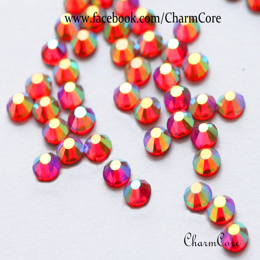 Manufacturer Supply Flat Back DIY Crystal Rhinestone Glass Stone To Make Things Sparkles