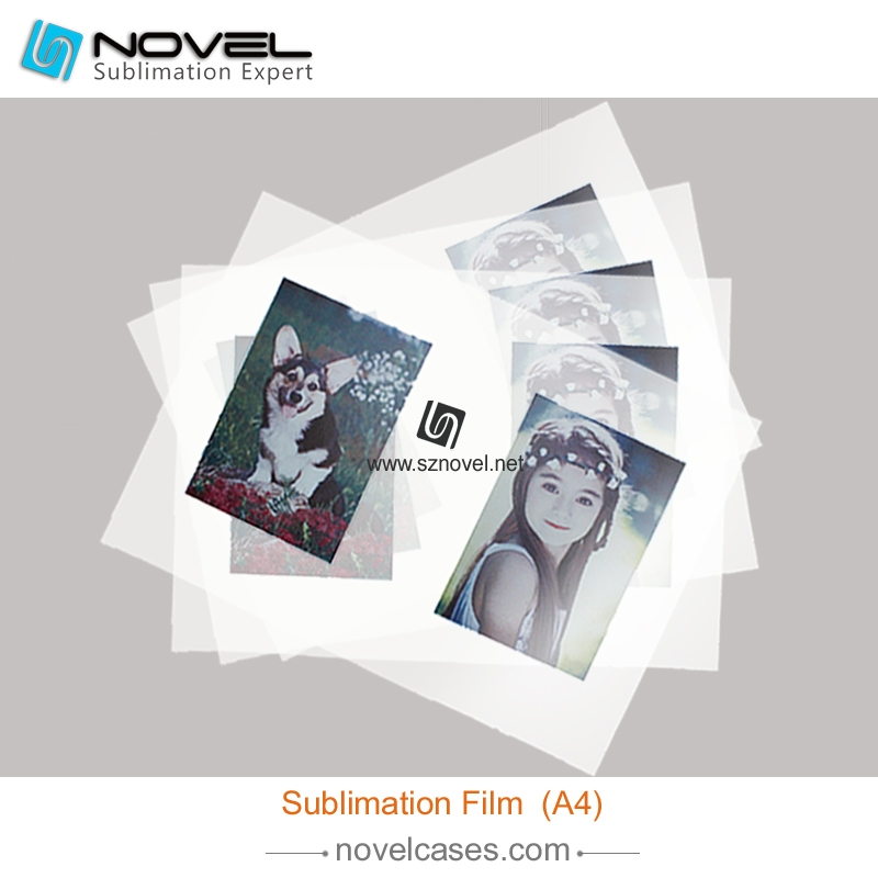 New Design sublimation heat transfer printing film for 3D film phone case for 3D mouse
