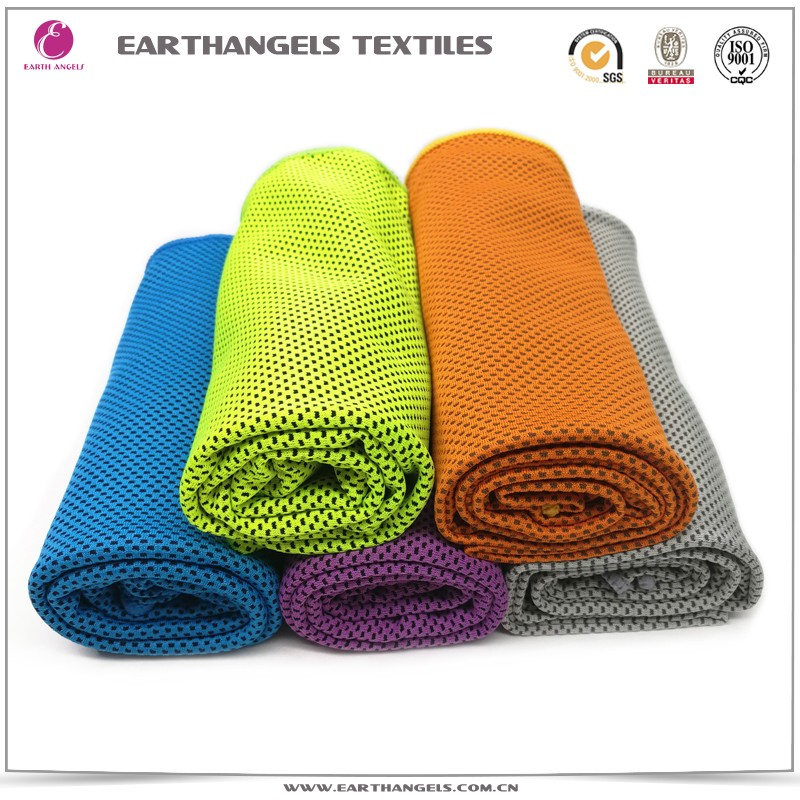 Hot Sale Ice Cold Cooling Sports Towel For Summer