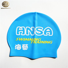 Adult Waterproof Silicone Swim Cap Flexible Elasticity Swimming Hat