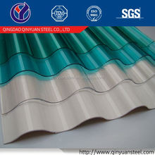corrugated pre-painted galvanized steel sheet, color corrugated metal sheet price