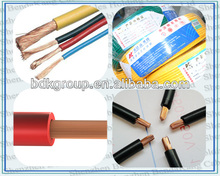 China Golden Manufacture Single Core PVC Insulated flexible cable 70mm 300 /500V