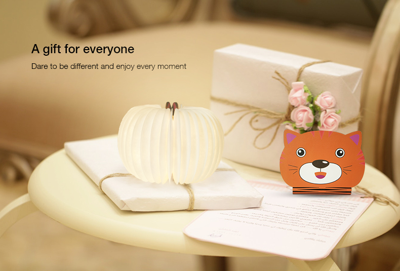 2018 small gifts creative art mini pocket animal cartoon book light for kids youth birthday