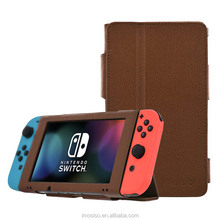 2017 Hottest Game Player Protective Cover Case For Nintendo Switch PU Leather Protable Case