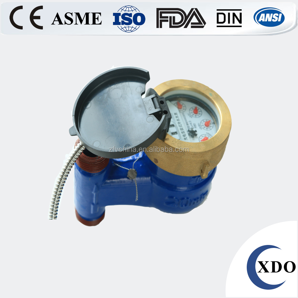 Factory Price Photoelectric Direct Reading Remote Control Water Meter, water meter price