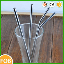 200*13mm ,the newest stainless steel Custom printed drinking straws