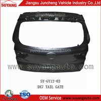 JUNCHENG GEELY DX7 tail gate metal auto zone parts prices