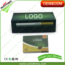 New trend OCITYTIMES OEM logo rechargeable 808d battery e-cig refill empty 808d cartomizer kit hot in Japan