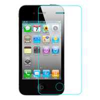 2016 Newest 0.3mm Arc Tempered Glass Screen Protector Protective Film For iPhone 4 4s inch Anti Scratch Screen Protector