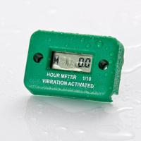 Waterproof Vibration wireless hour meter for gas diesel engine and electric motor lawn mower chain saw tractor truck---RL-HM016