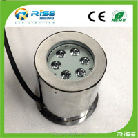 316 Stainless Steel Recessed DMX Color changing LED Underwater Light Waterproof Wonderful Color