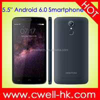 New Arrival Android 6.0 5.5 Inch Smartphone with Fingerprint lock OTG functiion and Fasr Charging HOMTOM HT17