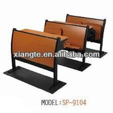 New design Wood step chair for university classroom,University lecture hall chair