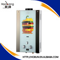 220V forced gas water heater with colorful glass