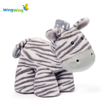 OEM&ODM soft plush toy zebra,plush animals zebra toy,colorful zebra standing toy
