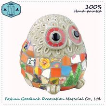 Hand Crafted Wholesale Stone Owl Garden Ornaments And Decorations