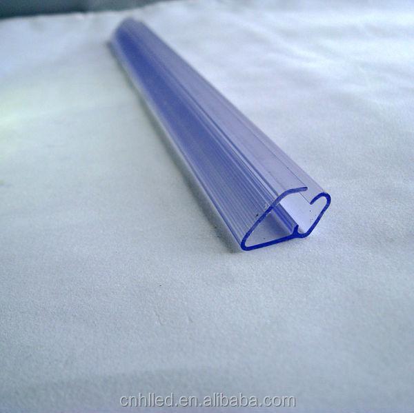 Шэньчжэнь Новый Дизайн Двойной сторона Блеск Пластиковые LED Профиль для Лестниц