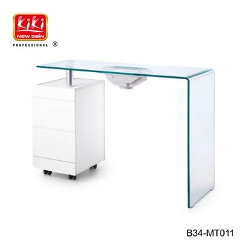 Nail salon furniture. Manicure Table. Salon beauty manicure nail table B34-MT011