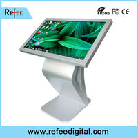 55 multi IR touch screen interactive kiosk pricing cheap lcd monitor