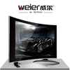 BLACK/WIHTE Led Tv WL-19C and WL-22c curved led tv 17'' 19''television set stock tvs electronics television