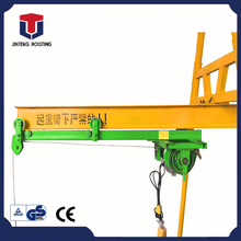 Alibaba China four column track straight sliding small construction crane,small lift crane