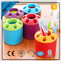 plastic series ningbo supplier colorful trash can pen holder
