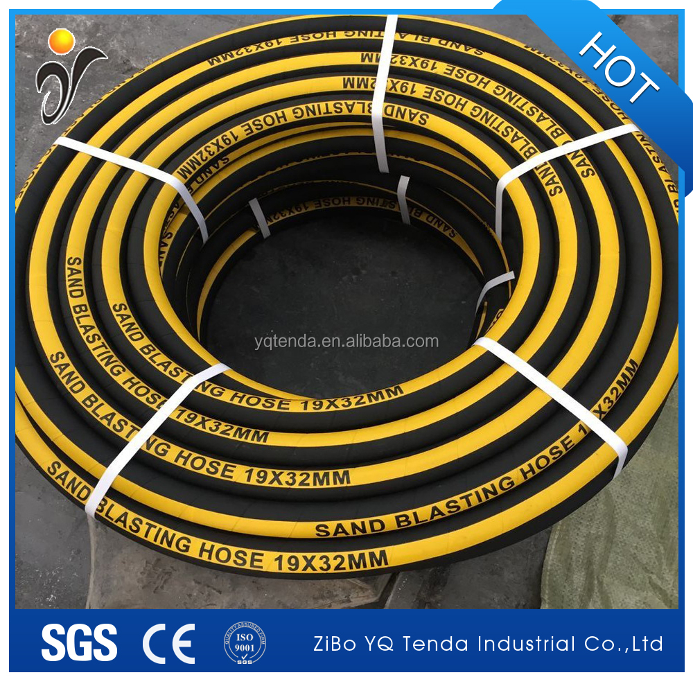Rubber sandblasting hose 19mm