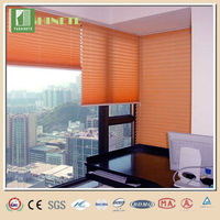 Non-woven pleated blinds office curtains and blinds plastic curtain door blind